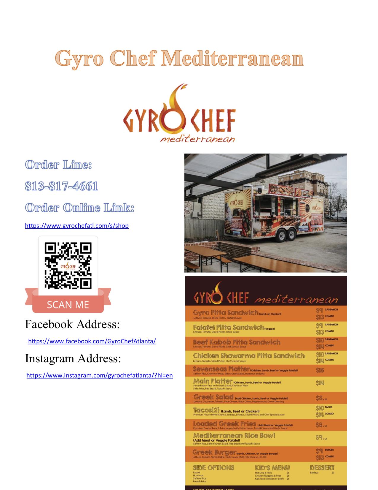 Gyro Chef Mediterranean